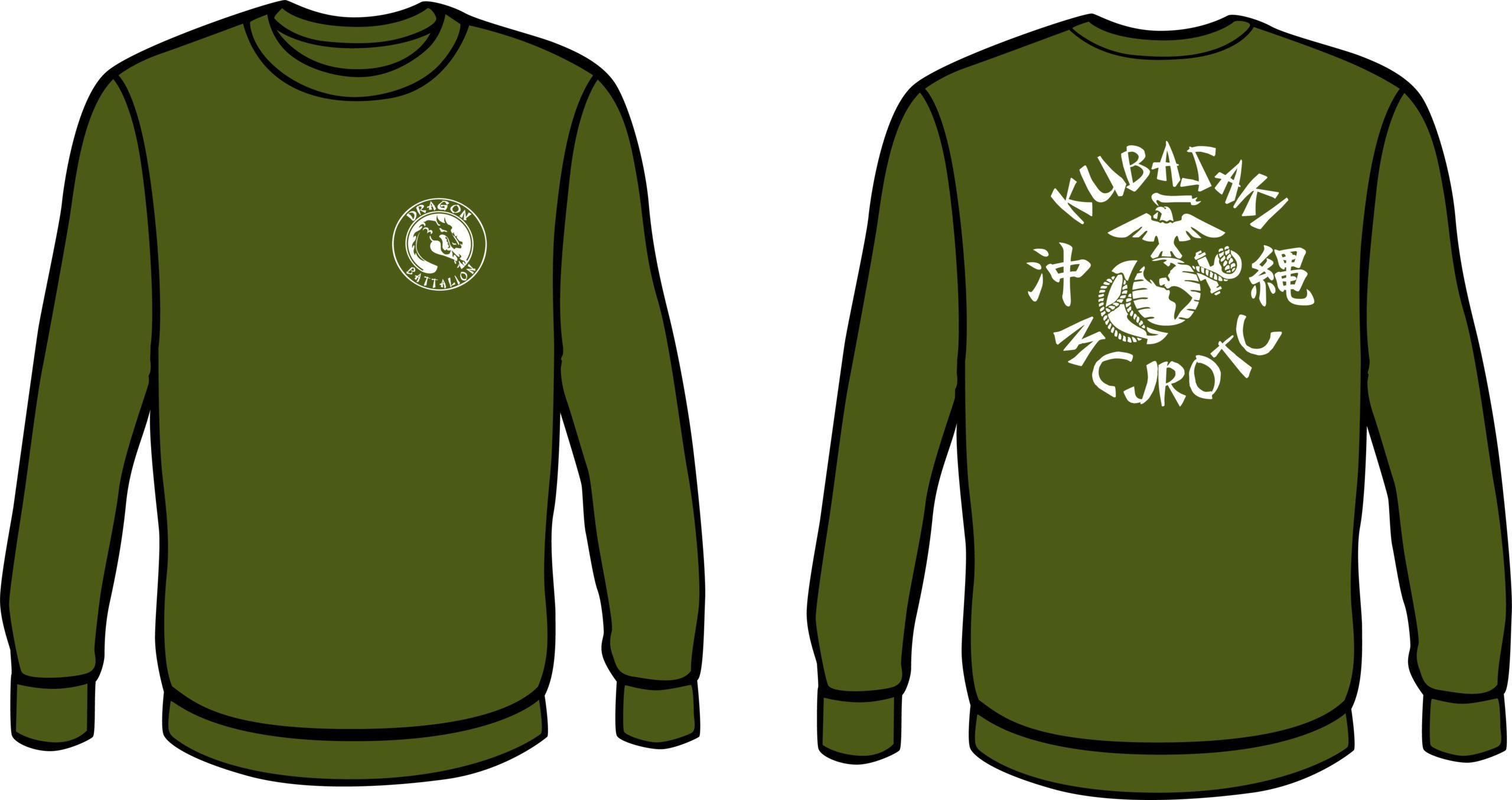 Od Green Crew Neck Sweat Shirt